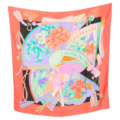 Leonard Silk scarf with pattern