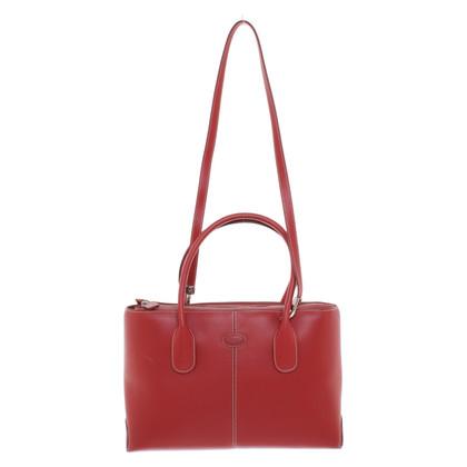 Tod's Handbag in red