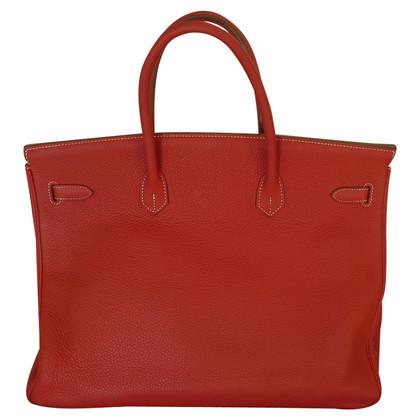 "Hermès ""Birkin Bag 40"" in pelle Clémence"