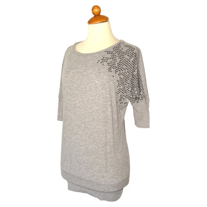 Escada Short sleeve pullover in grey