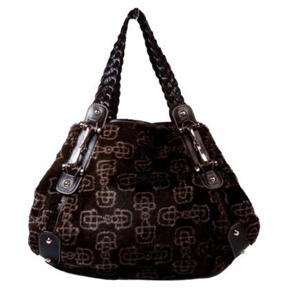 Gucci Handbag with fur trim