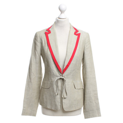 Whistles Blazer in Beige