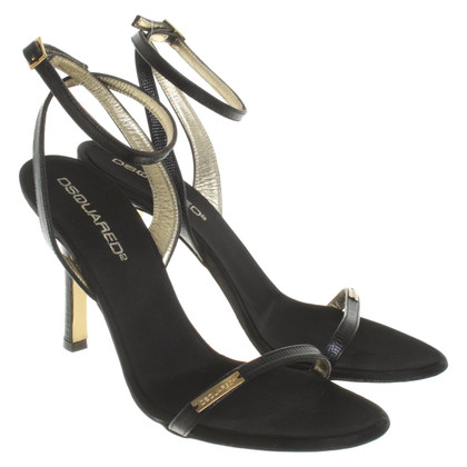 Dsquared2 Sandali in nero