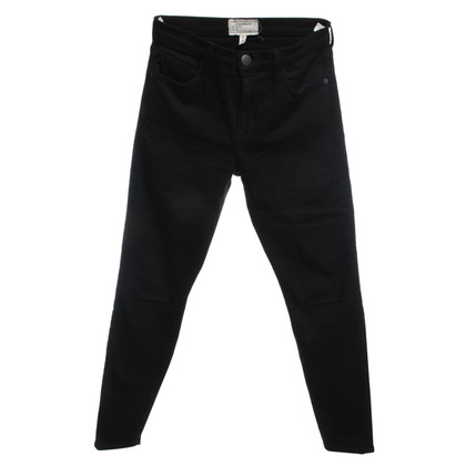 Current Elliott Black high waist jeans