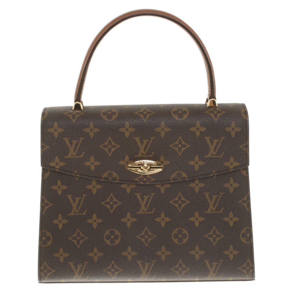 louis vuitton henkeltasche aus monogram canvas second hand louis vuitton henkeltasche aus. Black Bedroom Furniture Sets. Home Design Ideas