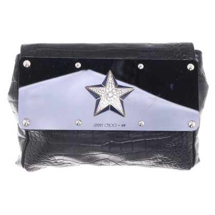 Jimmy Choo for H&M clutch with star application