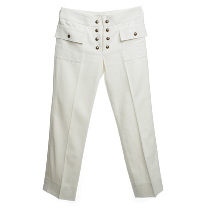 Chloé Pant in white