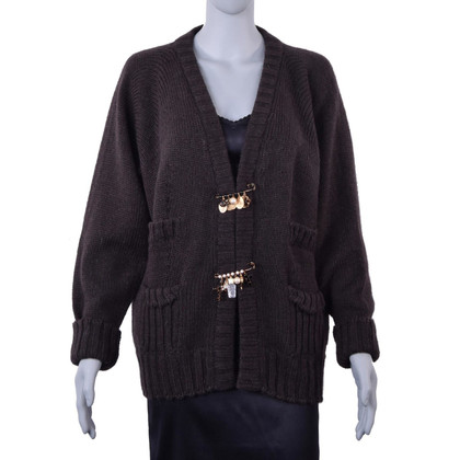 Dolce & Gabbana Cardigan Broches