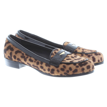 Miu Miu Slipper aus Fell