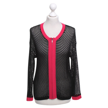 Escada Cardigan in black / pink