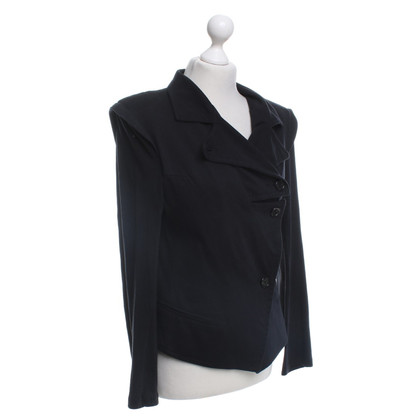 Ann Demeulemeester Jersey jacket in black