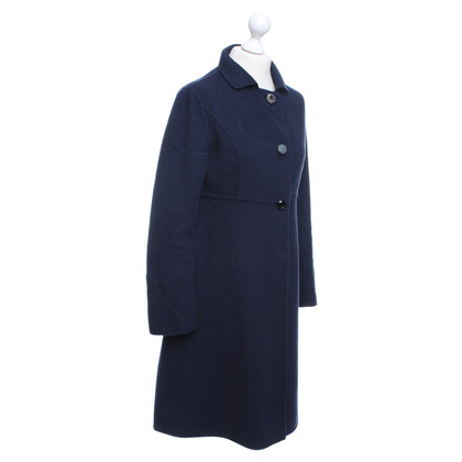 Maliparmi Coat in donkerblauw