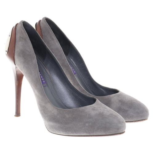 e3cd120e788 Ralph Lauren pumps in grey - Second Hand Ralph Lauren pumps in grey ...