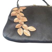 Emanuel Ungaro Evening bag with gold leaves