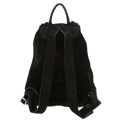 "Balenciaga ""Shearling Traveler Backpack"""
