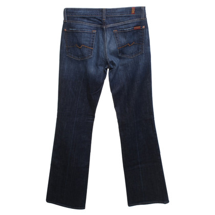 7 For All Mankind Bootcut Jeans in Blue