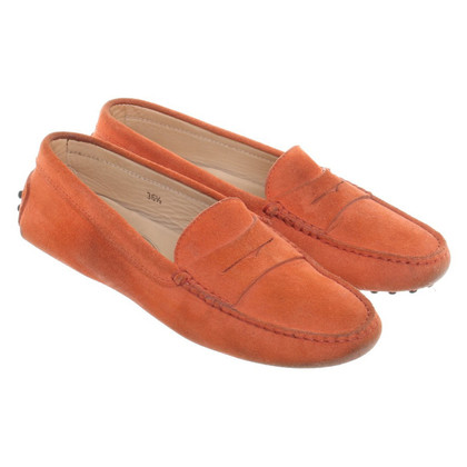 Tod's Moccasins Suede