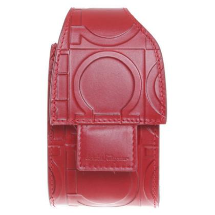 Salvatore Ferragamo Telefono Caso in Red