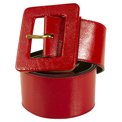 Yves Saint Laurent Belt in red