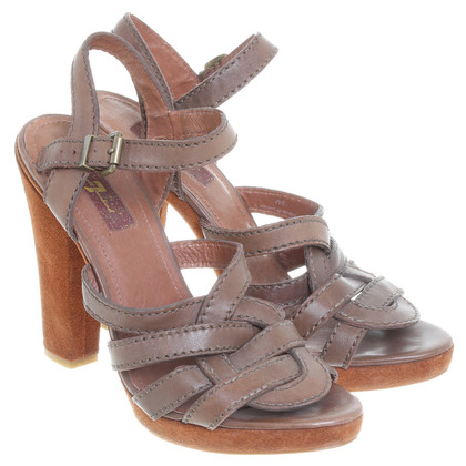7 For All Mankind Sandalen in bruin