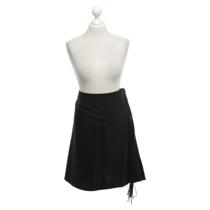 Alberta Ferretti skirt in black