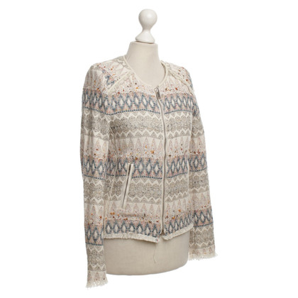 Iro Short jacket with woven patterns