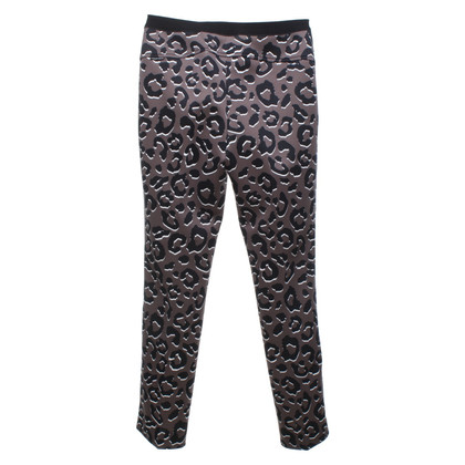 Marc Cain Skinny-trousers with animal print