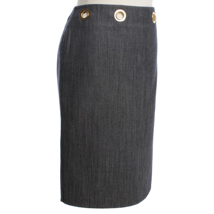 Céline skirt in jeans look