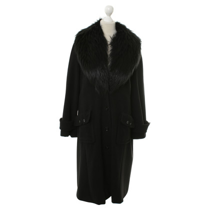Rena Lange Coat with fur collar