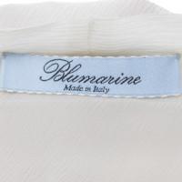 Blumarine Bow blouse in crème