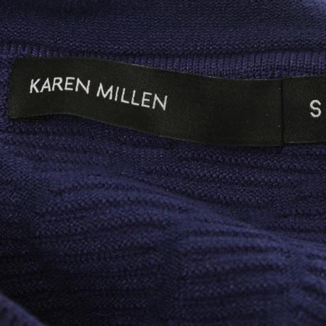 Karen Blau Karen Strickkleid Strickkleid Millen in in Blau Blau Blau Millen FZFxgH