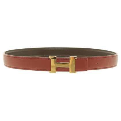 Hermès Belt with logo buckle