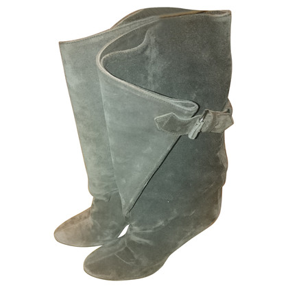 Balenciaga Boots suede