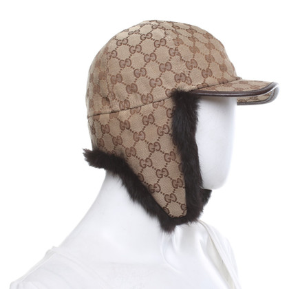 Gucci Cap with Guccissima pattern