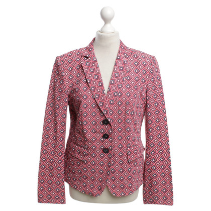 Nusco Blazer with rhombus pattern