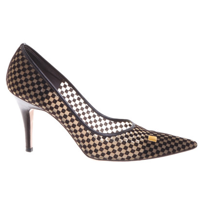 Louis Vuitton pumps con motivo