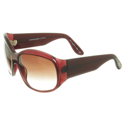 Oliver Peoples Sonnenbrille in Bordeaux