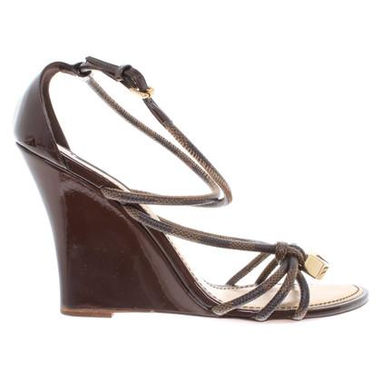 Louis Vuitton Sandalen met sleehak
