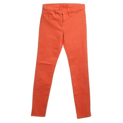 J Brand Skinny jeans en Orange