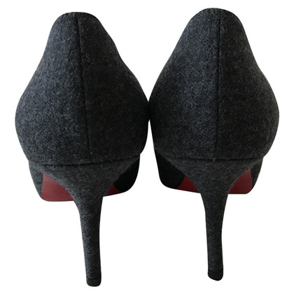 Christian Louboutin pumps Denim