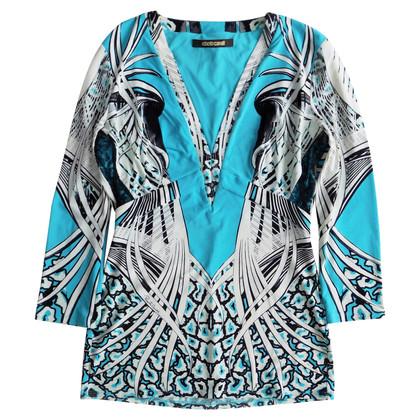 Roberto Cavalli top with pattern