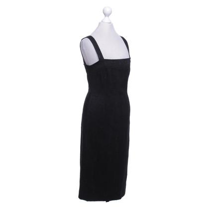 Dolce & Gabbana Schede jurk met jacquard patroon
