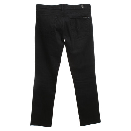 7 For All Mankind Pants in Black