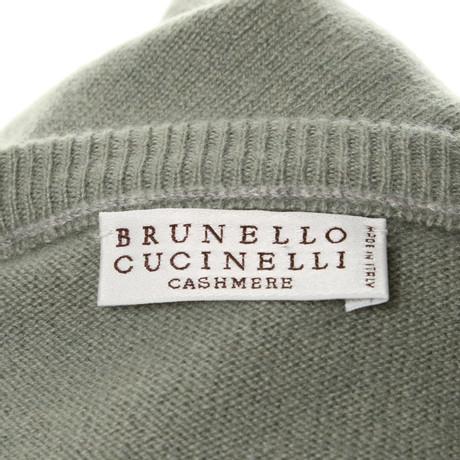 Brunello Kaschmir Gr眉n Brunello Cucinelli Pullover Pullover Cucinelli aus 1Yr1Oqx