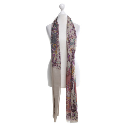 Etro Fine scarf with pattern print