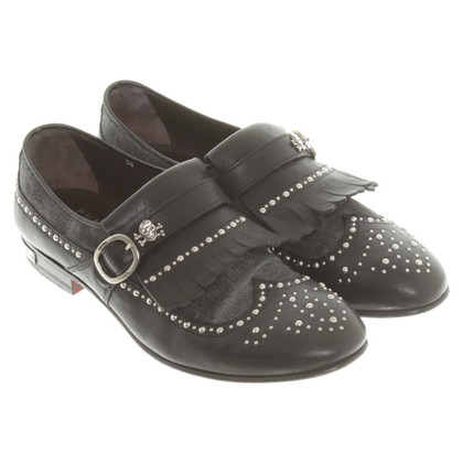 Philipp Plein Slippers met klinknagels