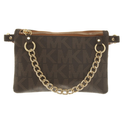 Michael Kors clutch with logo design