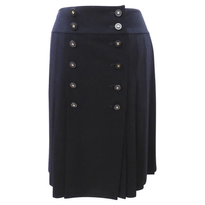 Chanel Pleated skirt with buttons