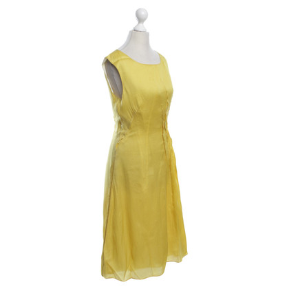 JOOP! Silk dress in yellow