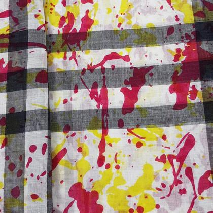 Burberry Sjaal gemaakt van wol / zijde